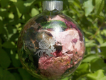 Silk Floral Keepsake Ornament